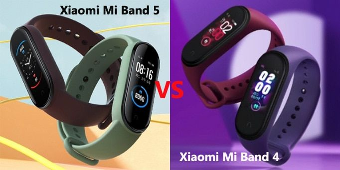 Xiaomi Mi Band 5 VS Mi Band 4: fitness tracker a confronto