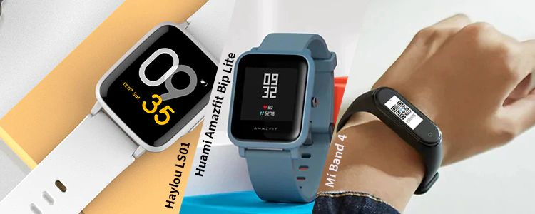 Xiaomi Haylou LS01 vs Xiaomi Mi Band 4 vs Huami Amazfit Bip Lite: quale Smartwatch scegliere?