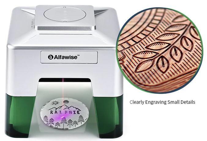 Incisore-laser-wireless-Alfawise-C50-Mini-3 Incisore laser wireless Alfawise C50 Mini: ideale per il fai da te, Dettagli e Offerte