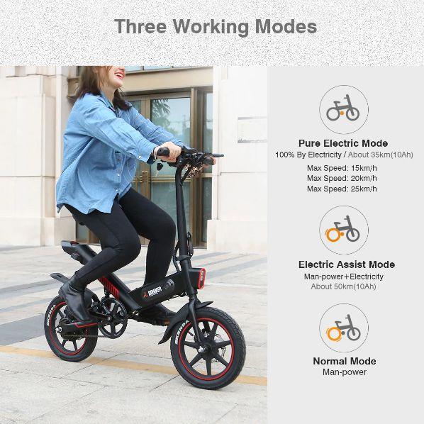 Offerta-DOHIKER-Y1-1 Offerta DOHIKER Y1 a 483€, MINI Bici Elettrica portabile
