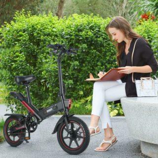 Offerta DOHIKER Y1 a 464€, MINI Bici Elettrica portabile