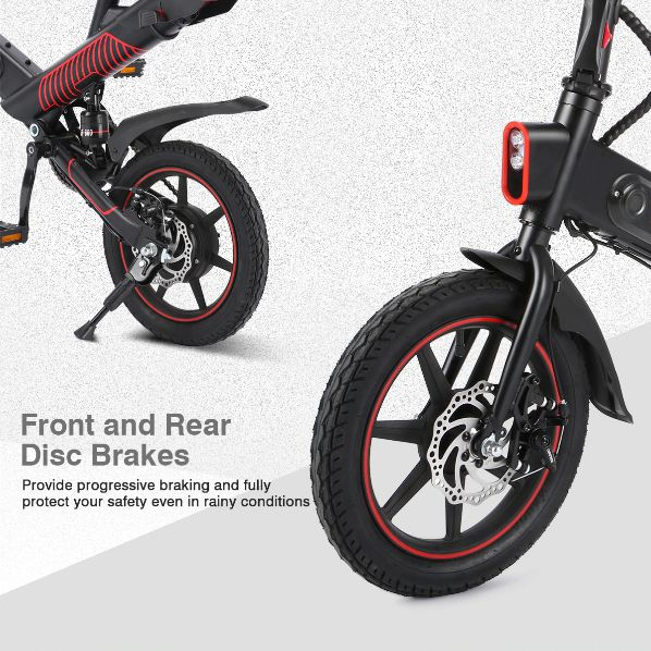 Offerta-DOHIKER-Y1-5 Offerta DOHIKER Y1 a 483€, MINI Bici Elettrica portabile
