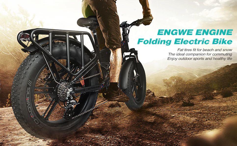 Offerta ENGWE ENGINE, Nuova FAT Bike elettrica da 500W del 2020