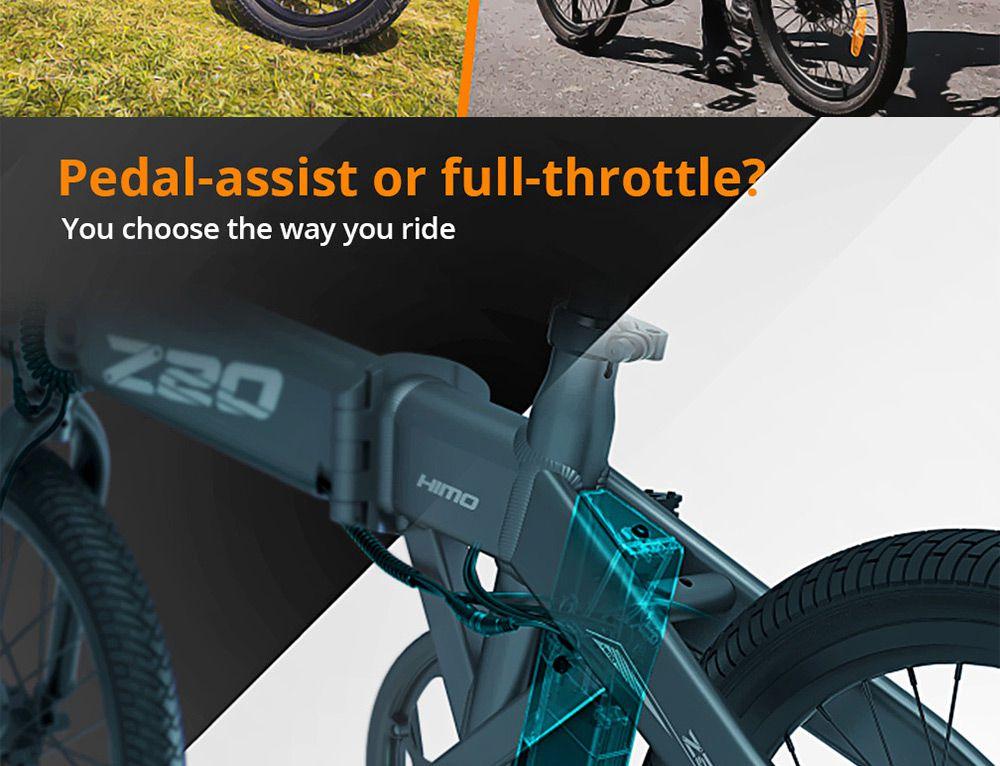 Offerta-Himo-Z20-12 Offerta Himo Z20 a 756€, Bici elettrica 2020 Autonomia 80km!