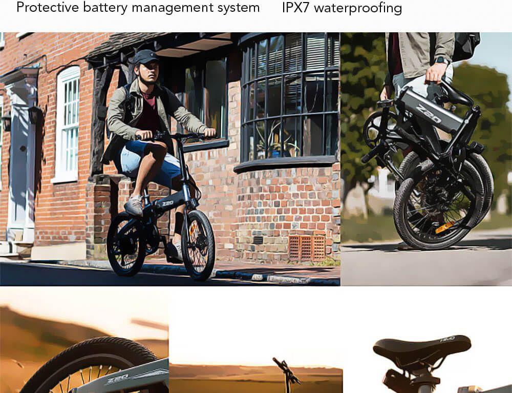 Offerta-Himo-Z20-13 Offerta Himo Z20 a 756€, Bici elettrica 2020 Autonomia 80km!