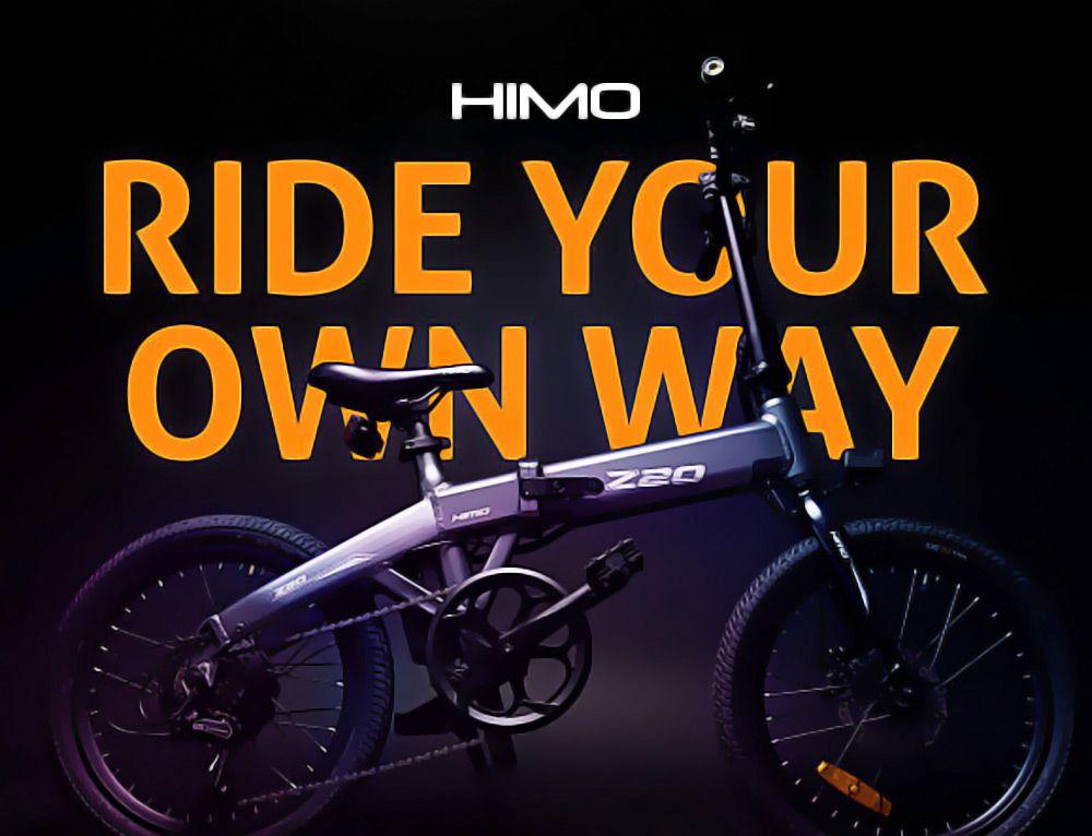 Offerta Himo Z20 a 756€, Bici elettrica 2020 Autonomia 80km!