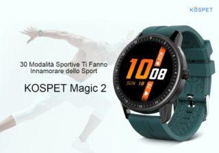 Offerta-Kospet-MAGIC-2-a-22€-2-320x224 Amazfit GTR a 135€, il nuovo Smartwatch Huami, Dettagli e Specifiche