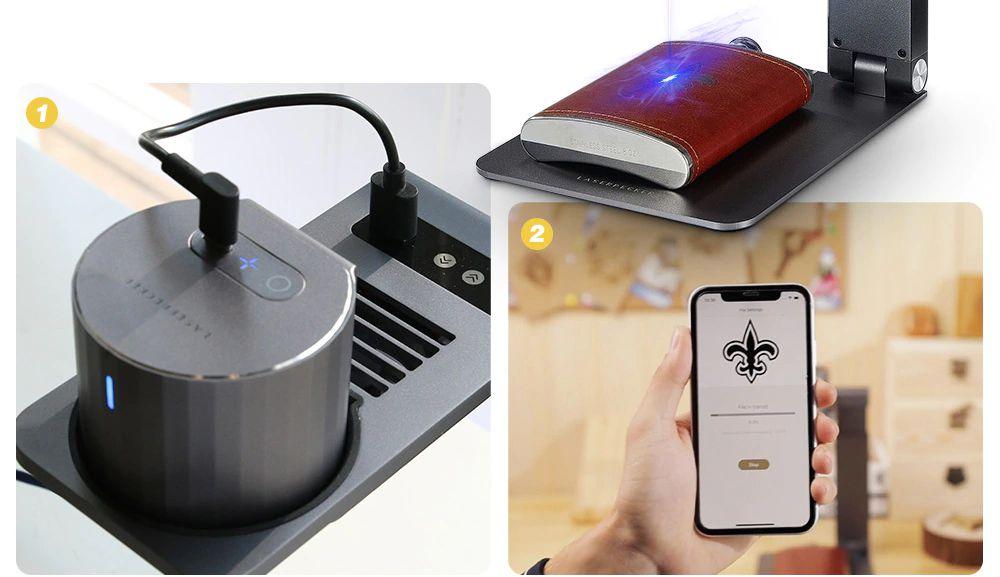 Offerta-LaserPecker-Pro-2 Offerta LaserPecker Pro a 274€, Incisore Laser portatile Fai Da te