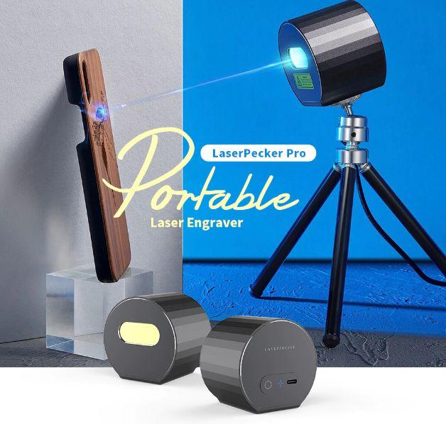 Offerta LaserPecker Pro a 274€, Incisore Laser portatile Fai Da te