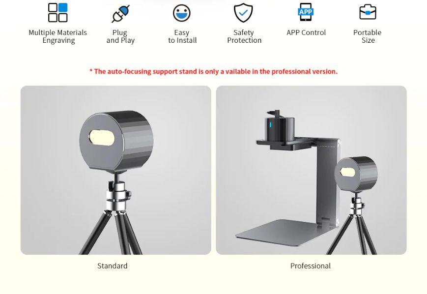 Offerta-LaserPecker-Pro-4 Offerta LaserPecker Pro a 274€, Incisore Laser portatile Fai Da te