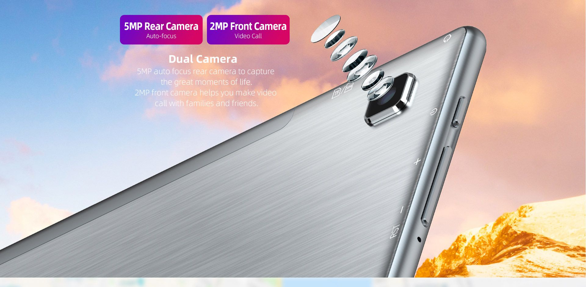 Offerta-TECLAST-P20HD-6 Offerta TECLAST P20HD a 117€, Tablet Cinese 2020 con Android 10