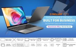Offerta-Teclast-F7S-5-320x198 Tutti i Dettagli di ALLDOCUBE Kbook, notebook cinese Clone di Macbook Air