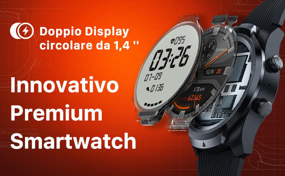 Offerta-TicWatch-Pro-2020-2 Offerta TicWatch Pro 2020 a 161€, Smartwatch Completo per fare tutto!