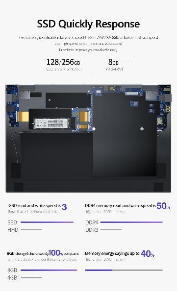 Offerta-KUU-Xbook-8 Offerta KUU Xbook a 257€, CLONE Macbook 2020 Economico