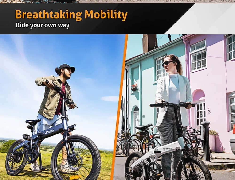Codice Sconto Himo Z20 a 722€, la bici elettrica pieghevole per la città 2020