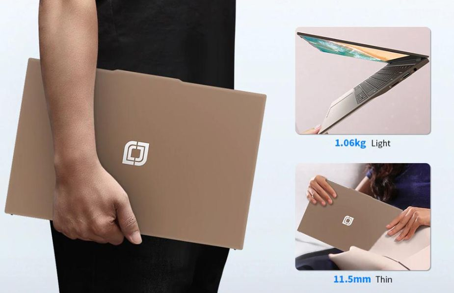 Jumper-EZbook-X3-Air-a-280E-3 Jumper EZbook X3 Air a 280€, notebook cinese 2020 ultrasottile! Dettagli e Offerte