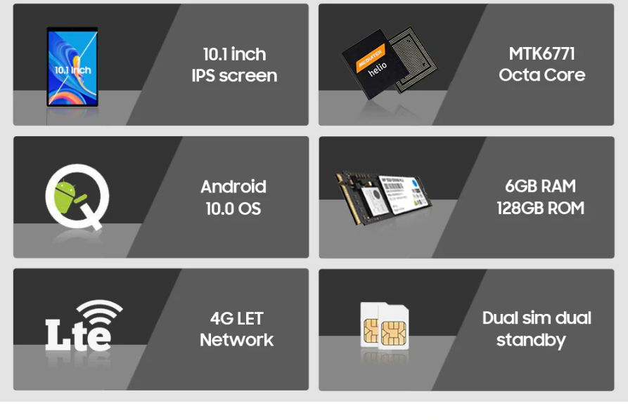 Offerta-CHUWI-HiPad-X-2 Offerta CHUWI HiPad X a 148€, Tablet 4G per Gaming con Android 10!