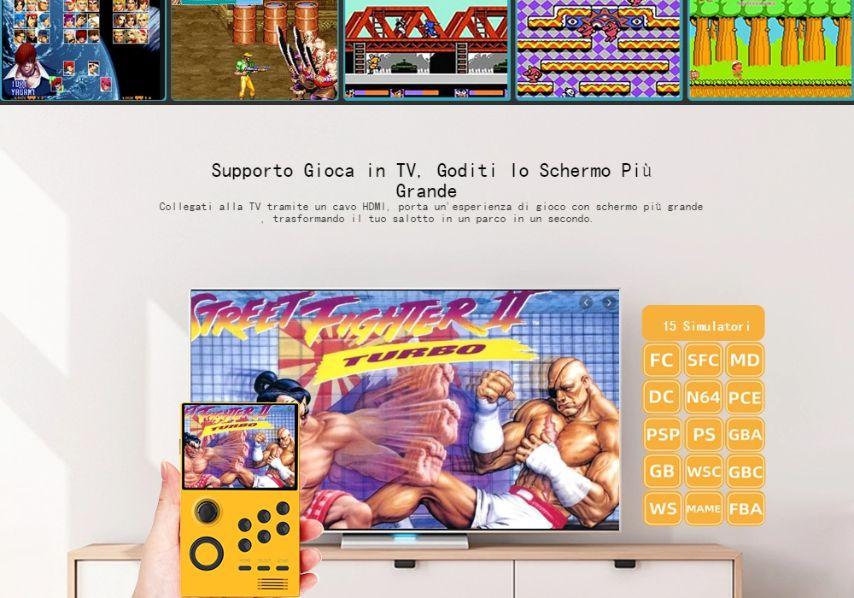 Offerta-Console-Android-Retro-Gam-1 Offerta Console Android Retro Game a 71€: Supretro 2300 giochi!