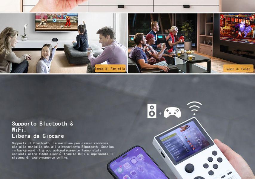 Offerta-Console-Android-Retro-Gam-2 Offerta Console Android Retro Game a 71€: Supretro 2300 giochi!