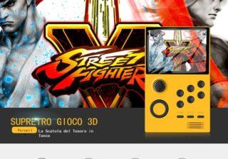 Offerta Console Android Retro Game a 71€: Supretro 2300 giochi!