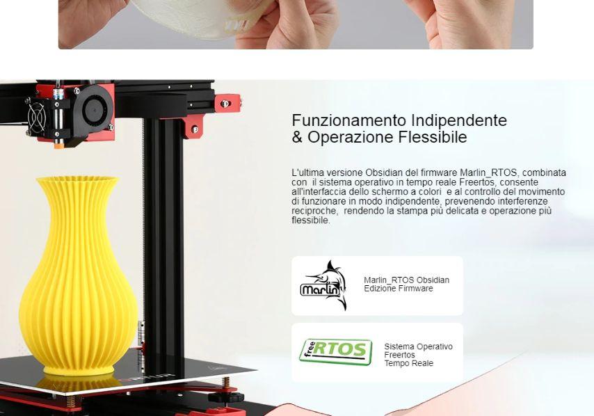 Offerta-Ortur-Obsidian-a-249E-6 Offerta Ortur Obsidian a 249€, Stampante 3D professionale Economica 2020