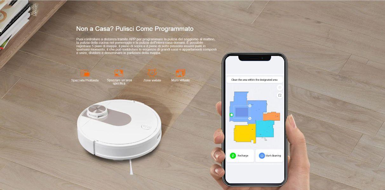 Offerta-VIOMI-SE-a-258E-1 Offerta VIOMI SE a 258€, Lava e Aspira nuovo Robot 2020