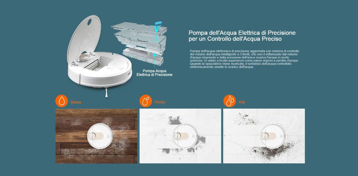 Offerta-VIOMI-SE-a-258E-3 Offerta VIOMI SE a 258€, Lava e Aspira nuovo Robot 2020