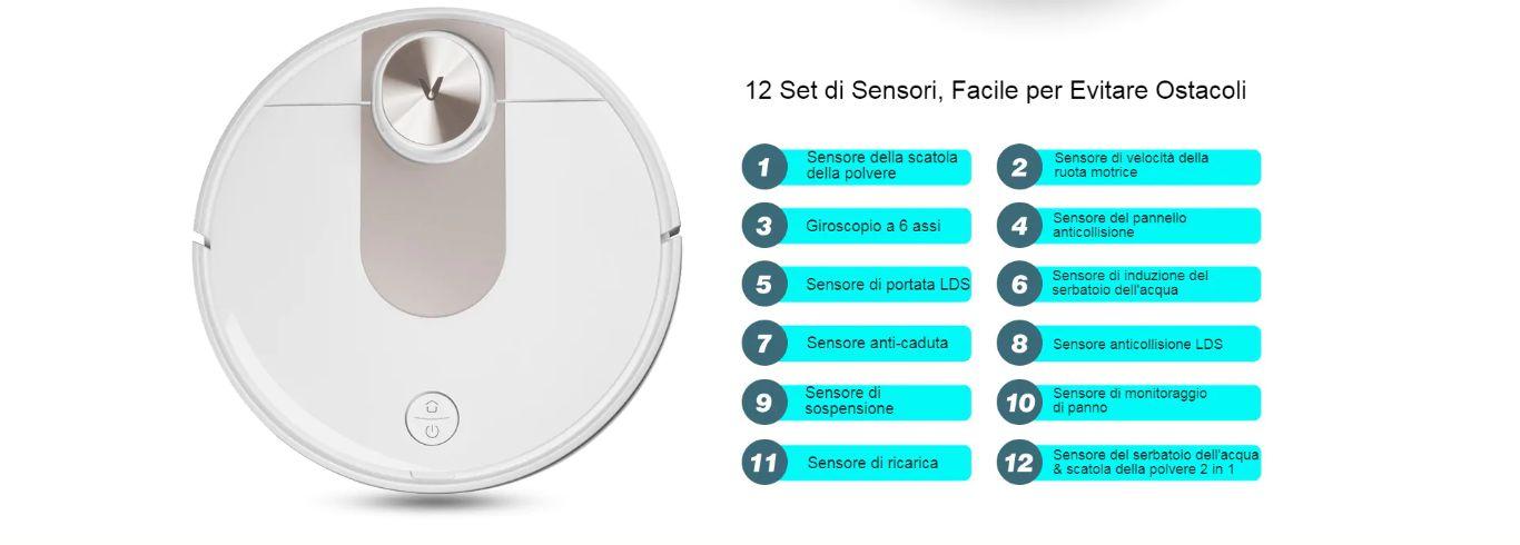 Offerta-VIOMI-SE-a-258E-8 Offerta VIOMI SE a 258€, Lava e Aspira nuovo Robot 2020