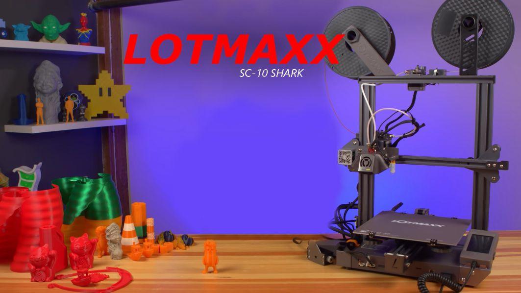 Recensione-Lotmaxx-SC-10-Shark-11 Recensione Lotmaxx SC-10 Shark, Stampante 3D con Incisore! Novità 2020