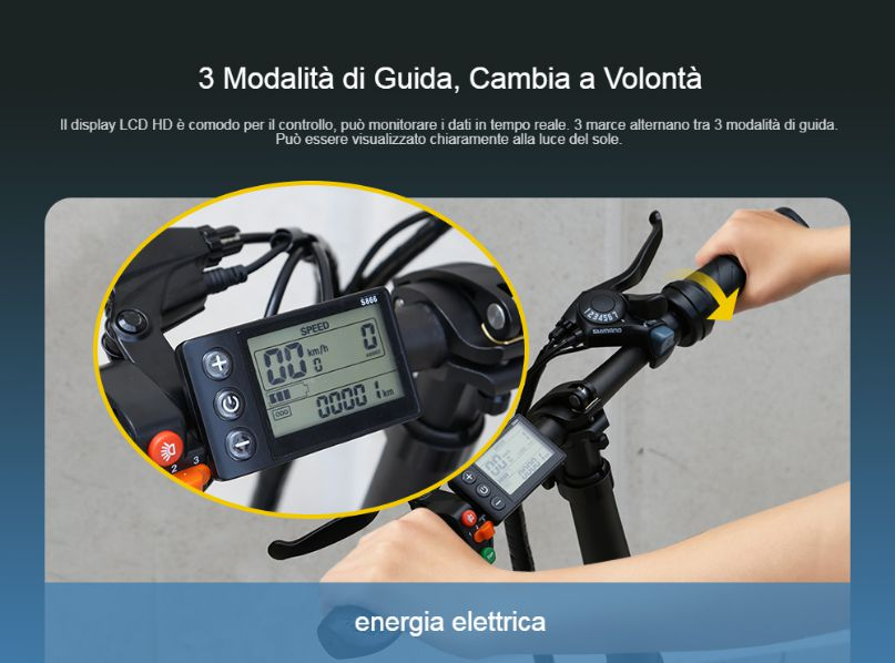 Offerta-ADO-Z20C-a-860E-Fat-Bike-Elettrica-1 Offerta ADO Z20C a 860€, Fat Bike Elettrica Leggera e Pieghevole 2020