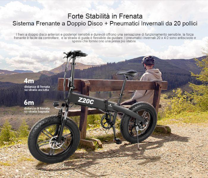 Offerta-ADO-Z20C-a-860E-Fat-Bike-Elettrica-2 Offerta ADO Z20C a 860€, Fat Bike Elettrica Leggera e Pieghevole 2020