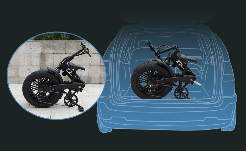 Offerta-ADO-Z20C-a-860E-Fat-Bike-Elettrica-3 Offerta ADO Z20C a 860€, Fat Bike Elettrica Leggera e Pieghevole 2020