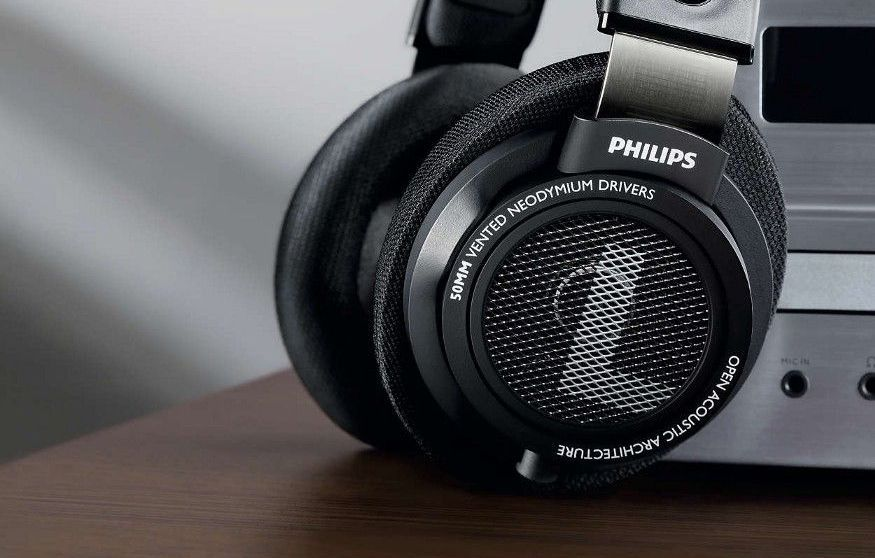 Recensione Philips SHP9500, Cuffie 50mm ad alta precisione