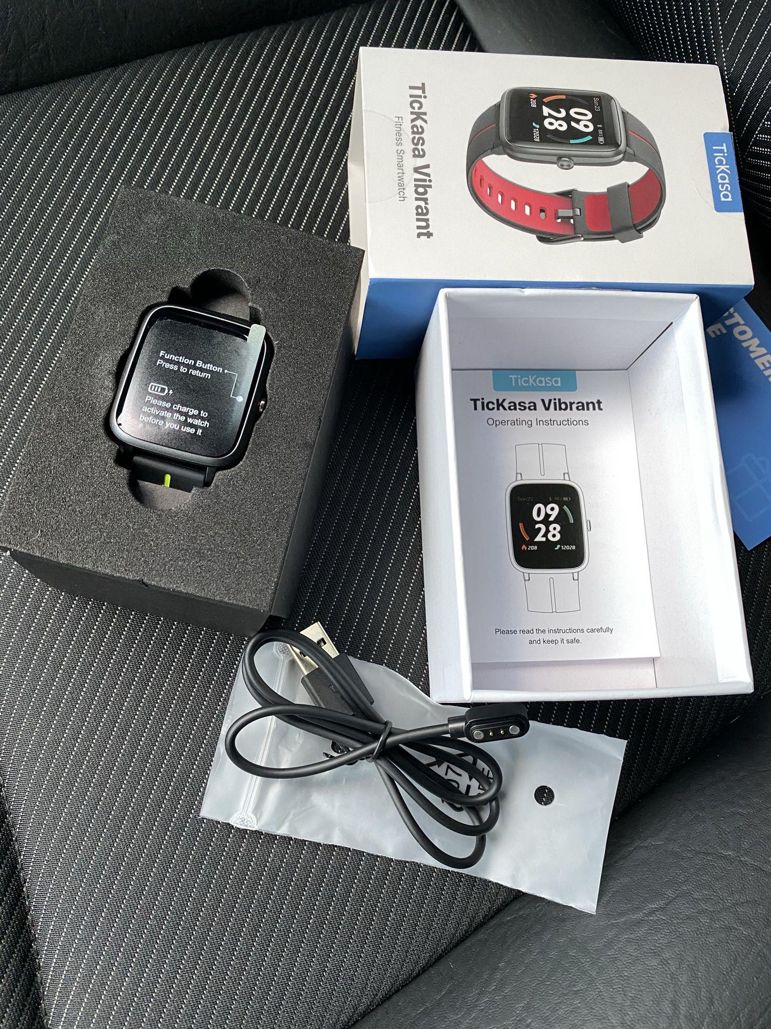 Recensione-TicKasa-Vibrant-16 Recensione TicKasa Vibrant, Fitness Smartwatch Economico