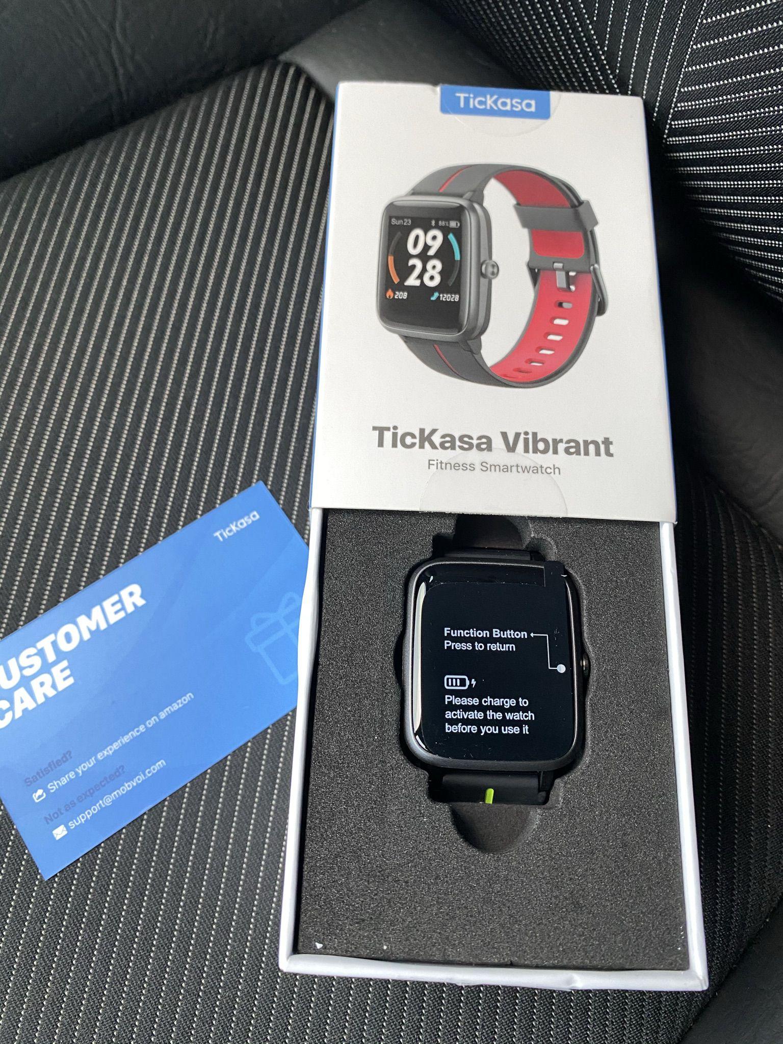 Recensione-TicKasa-Vibrant-17 Recensione TicKasa Vibrant, Fitness Smartwatch Economico