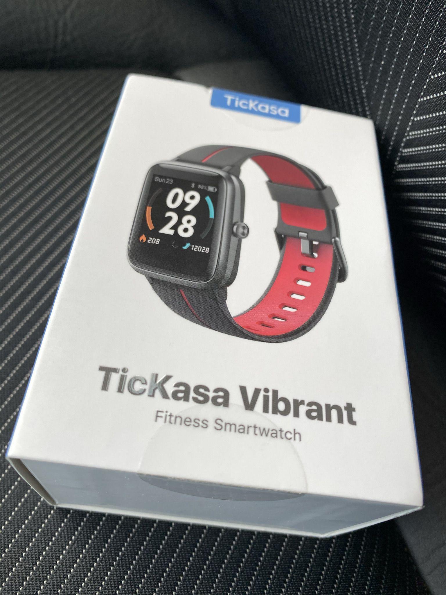 Recensione TicKasa Vibrant, Fitness Smartwatch Economico