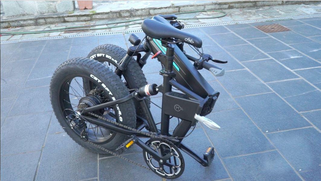 recensione-FIIDO-M1-11 Recensione Fiido M1, Fat Bike elettrica 2020