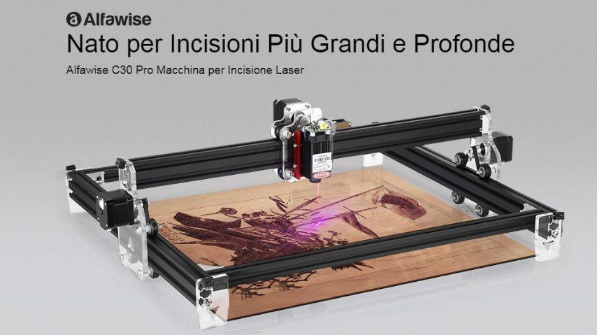 Codice Sconto Alfawise C30 Pro a 159€, Incisore laser 2020