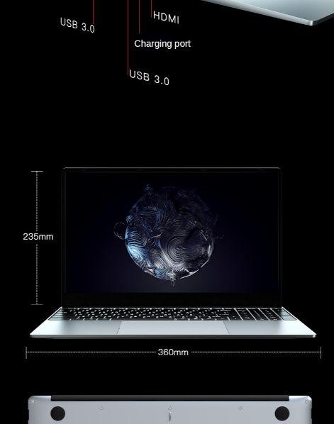 Offerta-T-BAO-Gaming-3 Offerta T-BAO Gaming a 435€: Notebook Cinese da Gaming 20Gb Ram