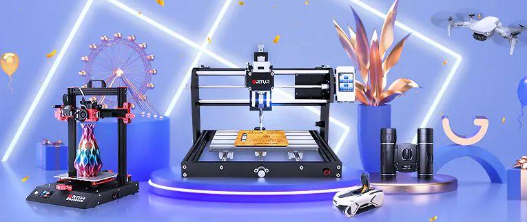 Offerta Double 11.11 Novembre 2020, Stampanti 3D e Incisori Laser
