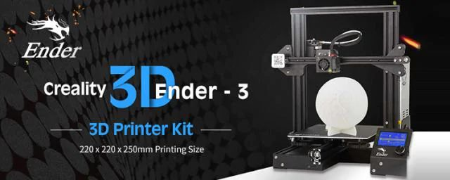 Migliore Stampante 3D a 170€: Creality 3D Ender 3 V-slot Prusa I3