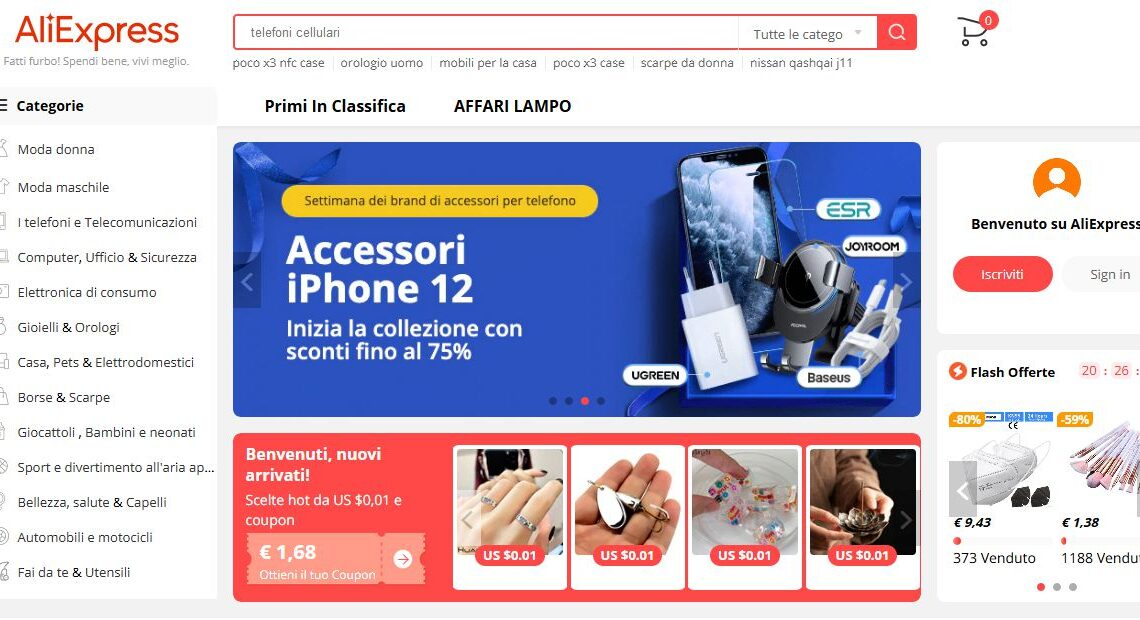 Guida Completa Aliexpress: Store Cinese in stile Amazon!