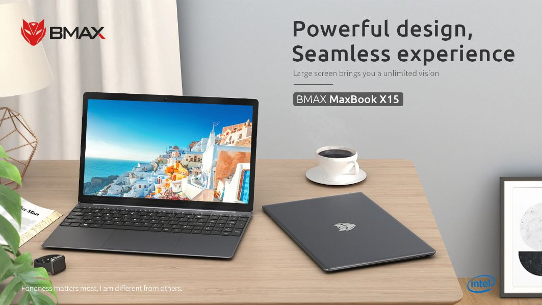 Offerta BMAX X15 a 314€, Notebook cinese per OFFICE
