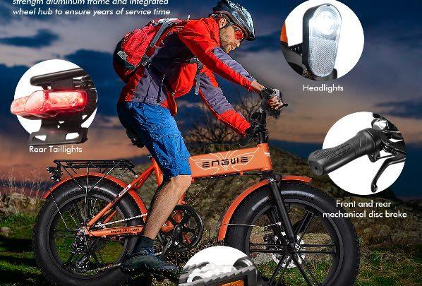 Offerta ENGWE EP-2 PRO 750W, Fat Bike più Potente 2020