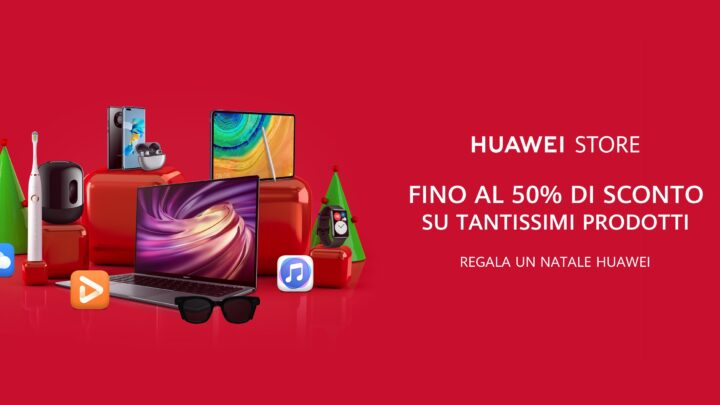 Offerta Speciale HUAWEI Dicembre 2020: Notebook, Tablet, Smartphone..