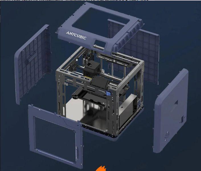 Stampante-3D-Professionale-Economica-del-2020-7 Stampante 3D Professionale Economica del 2020: ANYCUBIC 4Max Pro 2.0