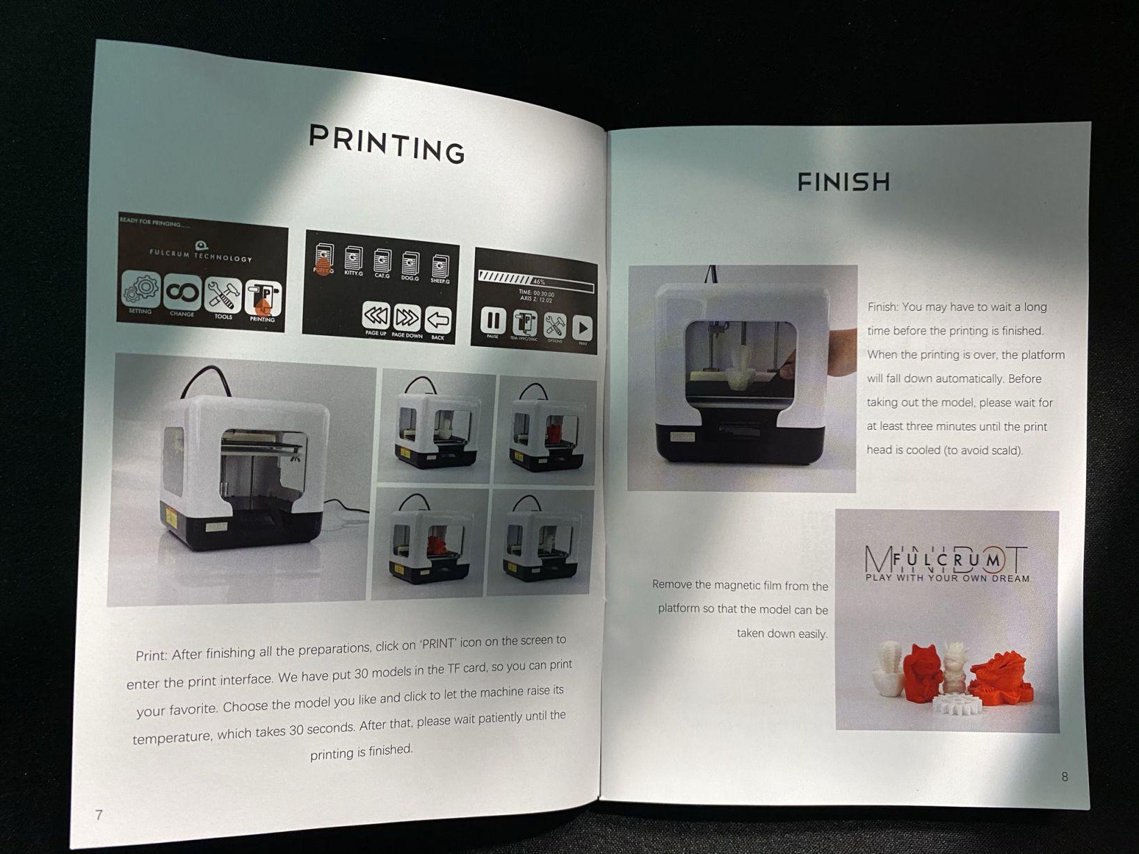 recensione-stampante-3d-flucrum-minibot-8 Recensione FULCRUM MINIBOT, Stampante 3D Facile e Veloce