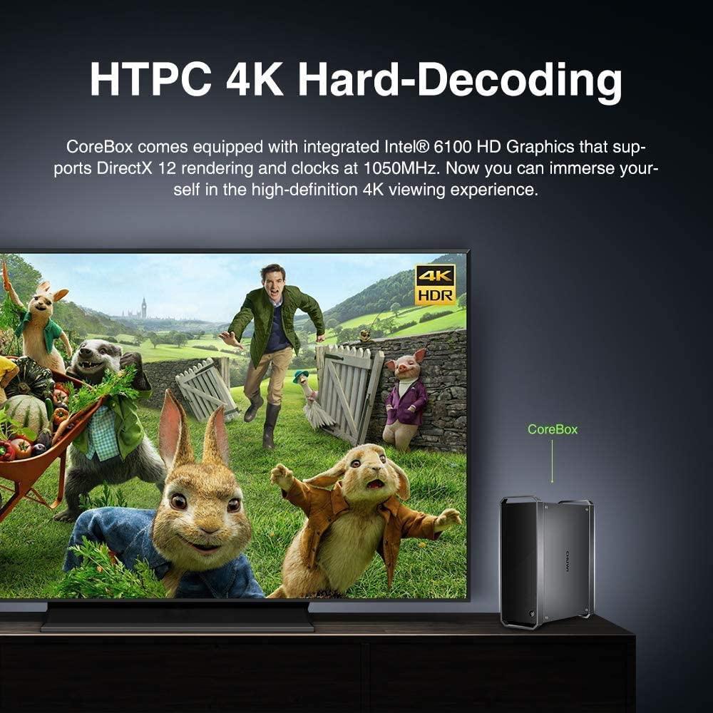 Offerta-CHUWI-CoreBox-Mini-PC-3 Offerta CHUWI CoreBox Mini PC a 270€, Miglior Mini PC 2021 i5-5257U