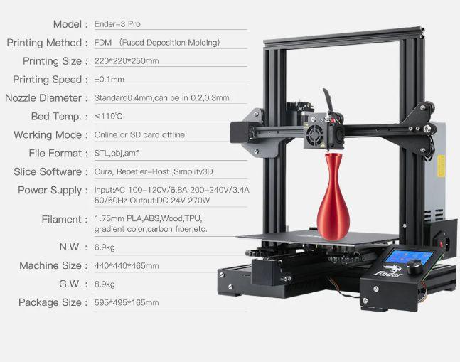 Offerta-CREALITY-3D-Ender-3-PRO-2 Offerta CREALITY 3D Ender 3 PRO a 148€, stampante 3D fascia media