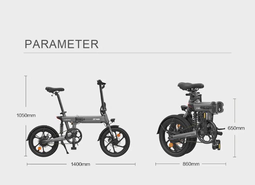 Offerta-HIMO-Z16 Offerta HIMO Z16 a 620€, Mini Bici Elettrica 2021